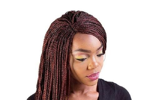 01 Braided Lace Front Wigs