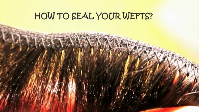 01 Sealing Wefts