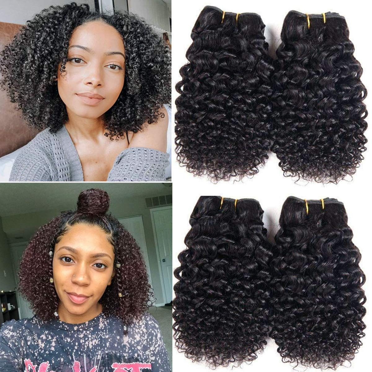 10 Inch Curly Weave