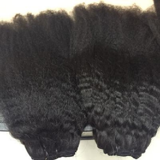 02 10 Inches Double Drawn Weft