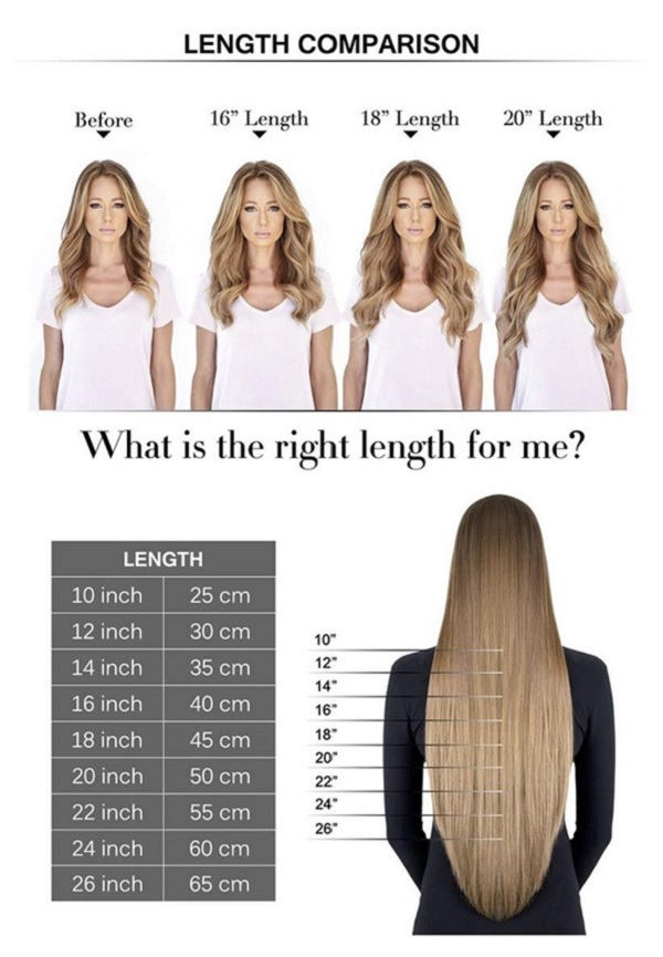 02 18 Inch Hair Extensions