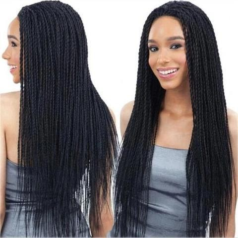 02 Braided Lace Front Wigs