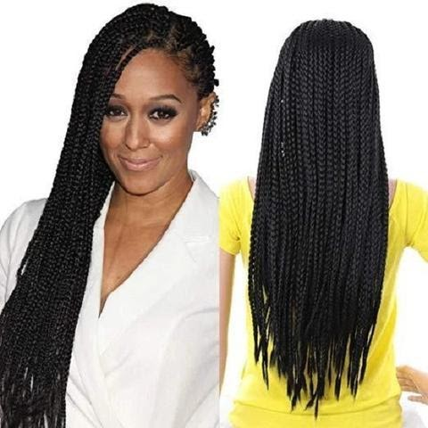 03 Braided Lace Front Wigs