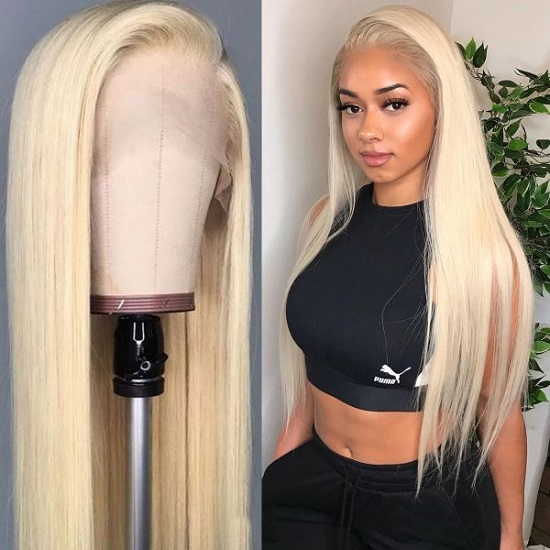 04 Blonde Lace Front Wig