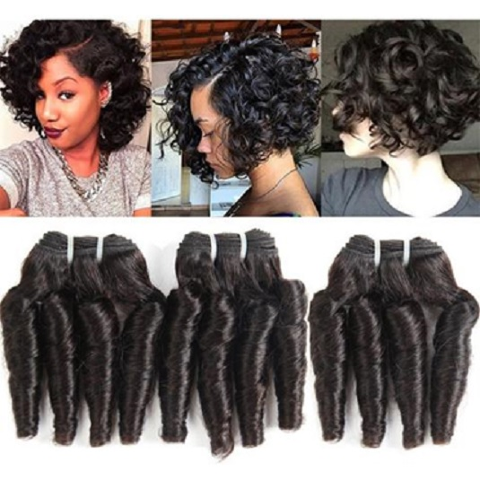 06 10 Inches Double Drawn Weft