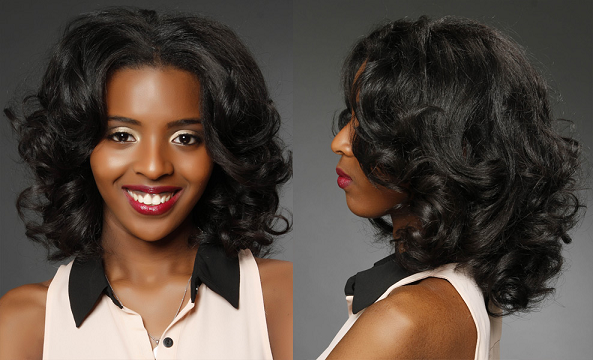 Remarkable Outstanding Black Wavy Medium Hairstyles All About Hair Natural Hairstyles Runnerswayorg