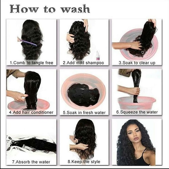 02 Synthetic Hair Extensions