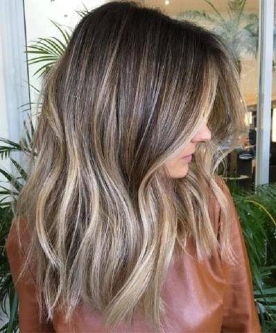 Light Brown hairstyle
