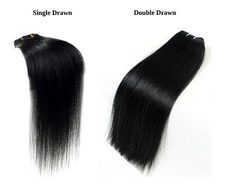 Single Drawn Vietnam Hair Double Drawn Hair Pros Cons 2